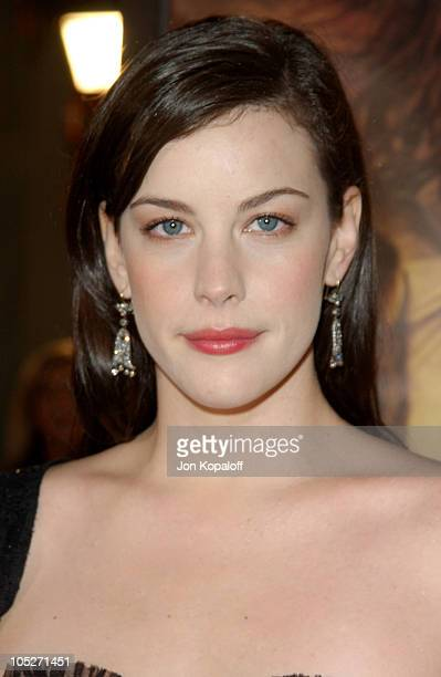 Liv Tyler during 'The Lord Of The Rings The Return Of The King' Los Angeles Premiere at The Mann Village Theatre in Westwood California United States