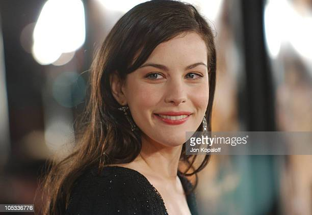 "Liv Tyler during ""The Lord Of The Rings: The Return Of The King"" - Los Angeles Premiere at The Mann Village Theatre in Westwood, California, United..."