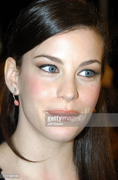 Liv Tyler during 'The Lord of the Rings The Two Towers' Hollywood Premiere at ArcLight Cinerama Dome in Hollywood California United States