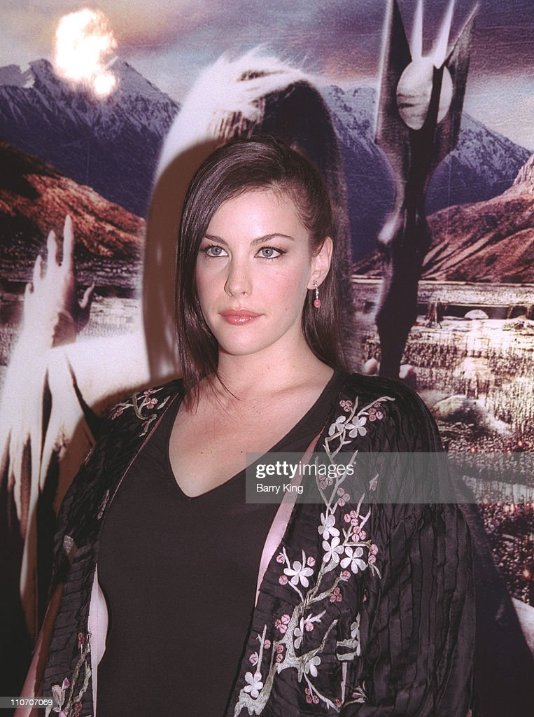 Liv Tyler during 'The Lord Of The Rings: The Two Towers' Los Angeles Premiere - Arrivals at Cinerama Dome Theatre in Hollywood, California, United States.