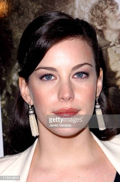 Liv Tyler during 'The Lord of The Rings The Two Towers' Premiere New York at Ziegfeld Theatre in New York City New York United States