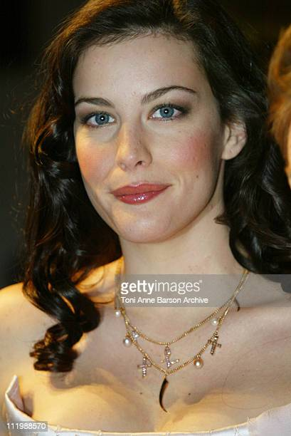 Liv Tyler during The Lord of the Rings The Two Towers Premiere Paris at Grand Rex Theater in Paris France
