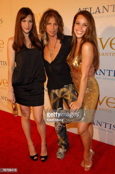 Liv Tyler her father Steven Tyler and daughter Chelsea Tallarico