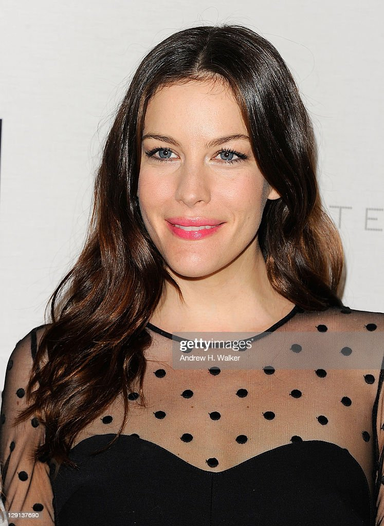 Liv Tyler hosts a cocktail reception in honor of fashion designer Stella McCartney celebrating the launch of the new Stella McCartney boutique at Saks Fifth Avenue on May 4, 2011 in New York City.