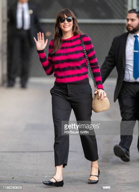 Liv Tyler is seen at 'Jimmy Kimmel Live' on January 21 2020 in Los Angeles California