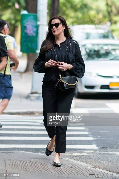 Liv Tyler is seen in the West Village on July 12 2018 in New York City