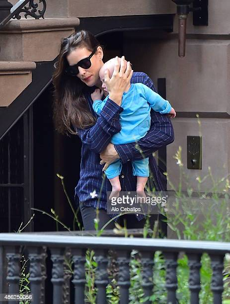 Liv Tyler is seen in the West Village on September 2, 2015 in New York City.