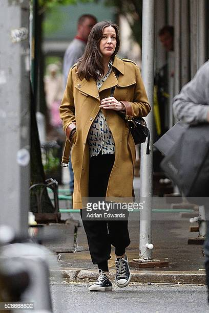 Liv Tyler is seen out for a walk in the West Village on May 6 2016 in New York City