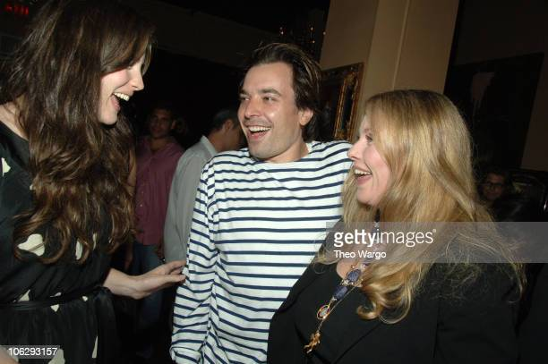 Liv Tyler Jimmy Fallon and Bebe Buell during Bebe Buell Birthday Bash July 12 2006 at The Cutting Room in New York City New York United States