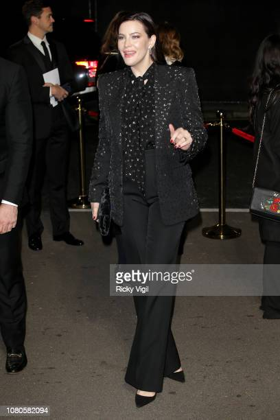 Liv Tyler seen arriving at The Fashion Awards 2018 at the Royal Albert Hall on December 10 2018 in London England