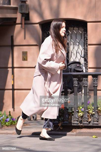 Liv Tyler seen out and about in Manhattan on April 11 2018 in New York City