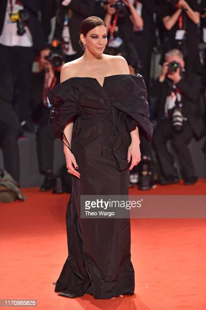 """Liv Tyler walks the red carpet ahead of the """"Ad Astra"""" screening during the 76th Venice Film Festival at Sala Grande on August 29, 2019 in Venice,..."""