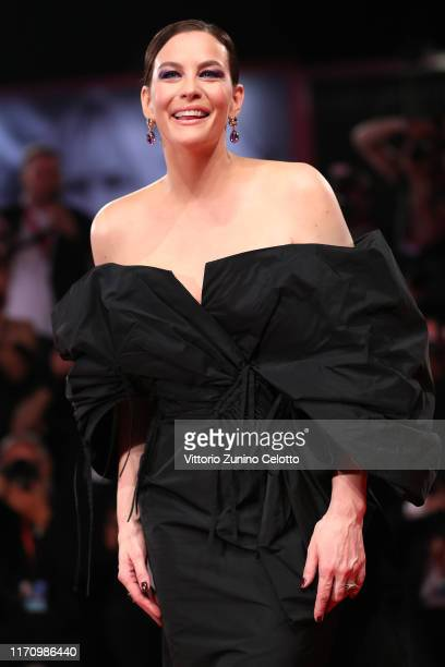 "Liv Tyler walks the red carpet ahead of the ""Ad Astra"" screening during the 76th Venice Film Festival at Sala Grande on August 29, 2019 in Venice,..."