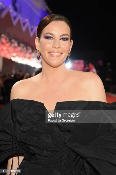 Liv Tyler walks the red carpet ahead of the Ad Astra screening during the 76th Venice Film Festival at Sala Grande on August 29 2019 in Venice Italy