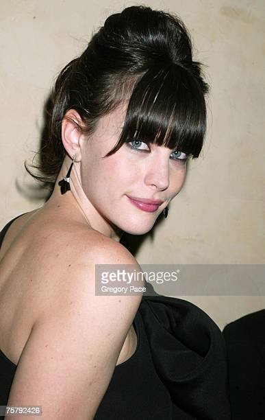 Liv Tyler wearing a Givenchy dress