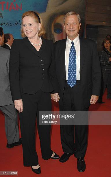 Liv Ullmann and Donald Saunders attend Flawless world premiere and San Sebastian Film Festival awards ceremony at the Kursaal Palace September 29...