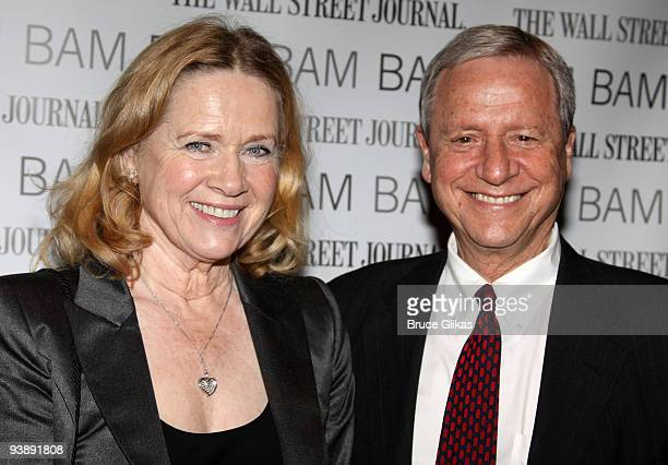 Liv Ullmann and husband Donald Saunders attend the opening night celebration for Streetcar Named Desire BAM Belle Reve Gala at the Brooklyn Academy...