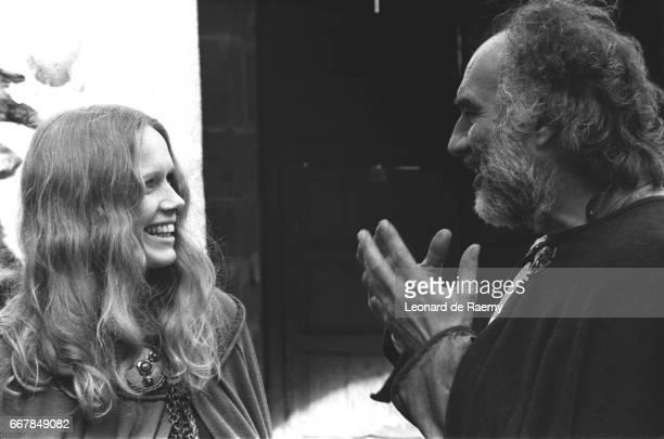 Liv Ullmann and Michel Piccoli
