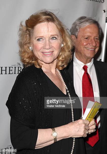 Liv Ullmann Donald Saunders attending the Broadway Opening Night Performance of 'The Heiress' at The Walter Kerr Theatre on in New York