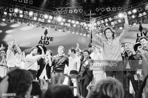 Live Aid Pictures and Photos - Getty Images
