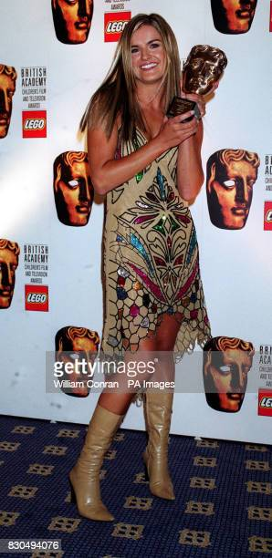 Live and Kicking presenter Katy Hill at the British Academy Children's Film and Television Awards in London's Park Lane