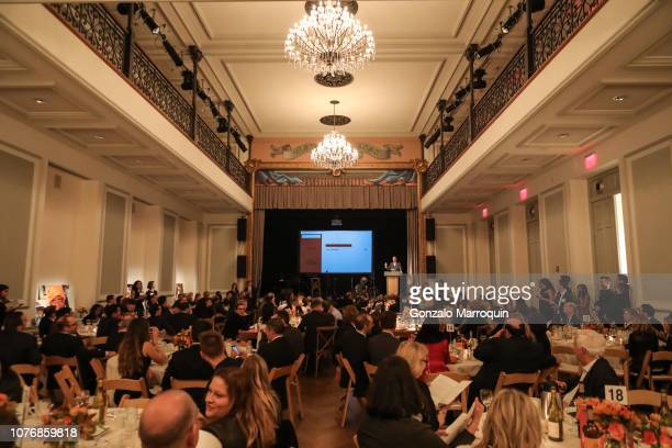 Live Auction at Association To Benefit Children's Thanks for Giving Benefit at Bohemian National Hall on November 19 2018 in New York City
