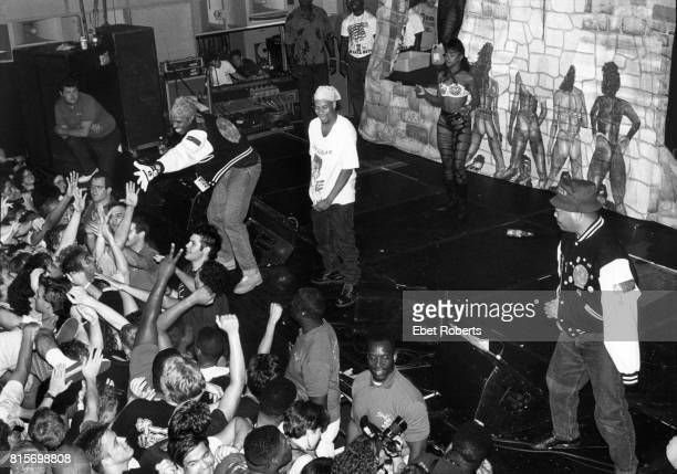 2 Live Crew performing at the Palladium in New York City on July 18 1990