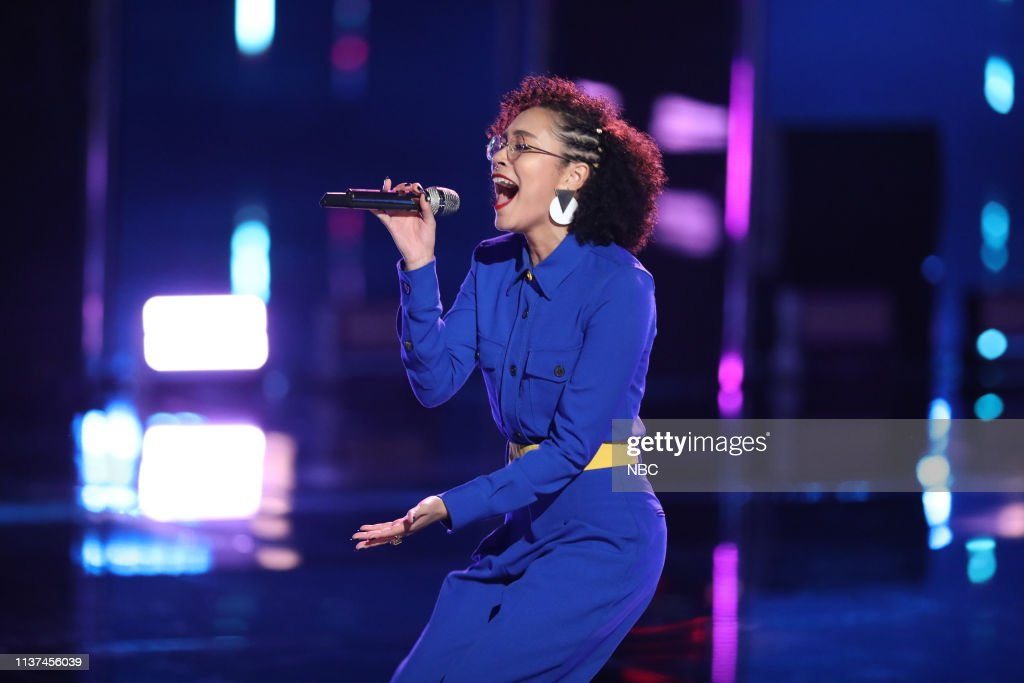 "CA: NBC's ""The Voice"" - Live Cross Battles"