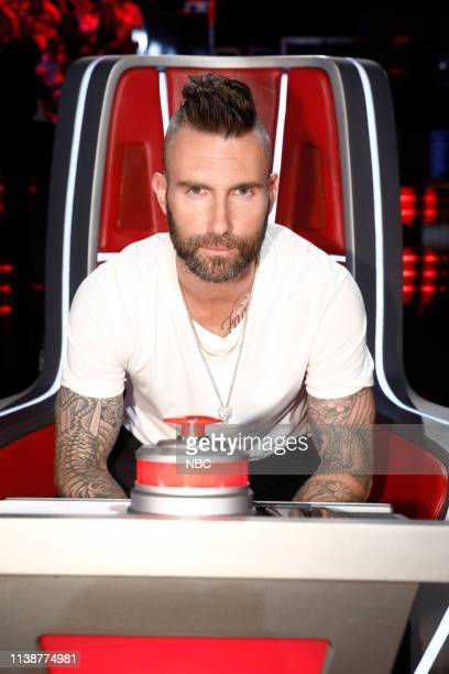 THE VOICE Live Cross Battles Episode 1612A Pictured Adam Levine