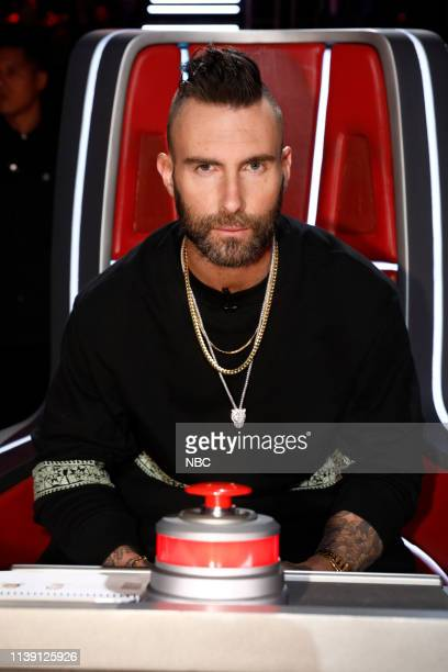 THE VOICE Live Cross Battles Results Episode 1612B Pictured Adam Levine