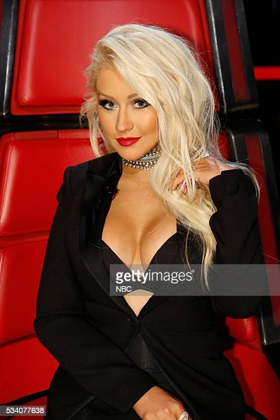 THE VOICE Live Finale Episode 1018B Pictured Christina Aguilera
