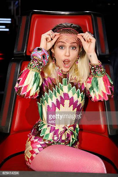 THE VOICE 'Live Finale' Episode 1118A Pictured Miley Cyrus