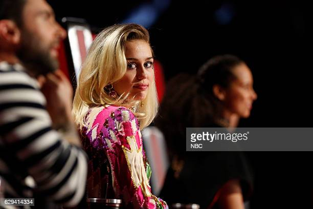 THE VOICE Live Finale Episode 1118A Pictured Miley Cyrus