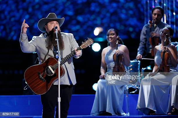 THE VOICE Live Finale Episode 1118A Pictured Sundance Head