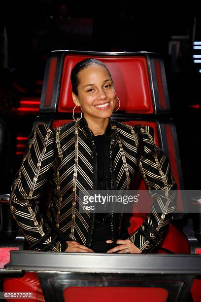 THE VOICE 'Live Finale' Episode 1118B Pictured Alicia Keys