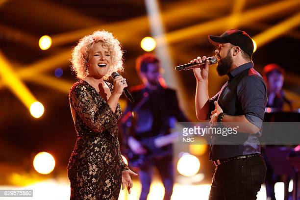 THE VOICE Live Finale Episode 1118B Pictured Cam Josh Gallagher