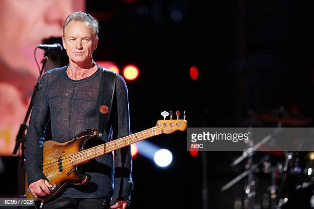 THE VOICE Live Finale Episode 1118B Pictured Sting