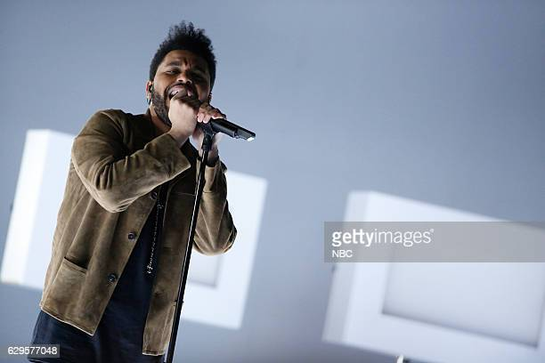THE VOICE 'Live Finale' Episode 1118B Pictured The Weeknd 'Abel Tesfaye'