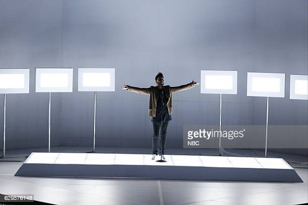 THE VOICE 'Live Finale' Episode 1118B Pictured The Weeknd