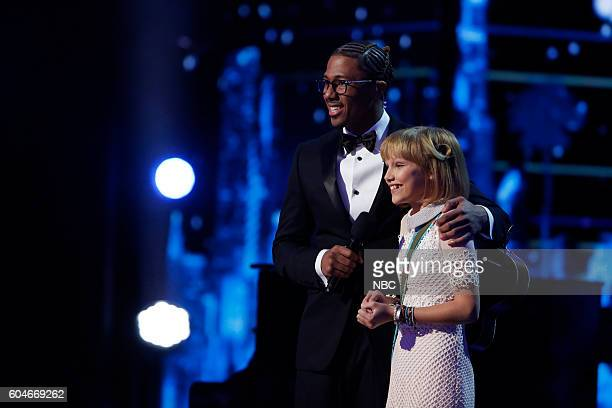 "Live Finale"" Episode: 1122 -- Pictured: Nick Cannon, Grace VanderWaal --"