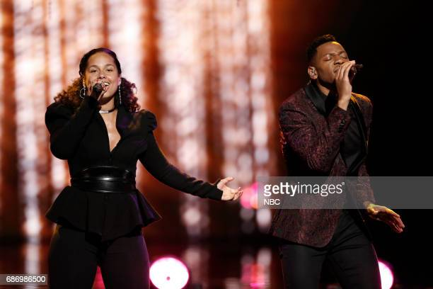 THE VOICE 'Live Finale' Episode 1219A Pictured Alicia Keys Chris Blue