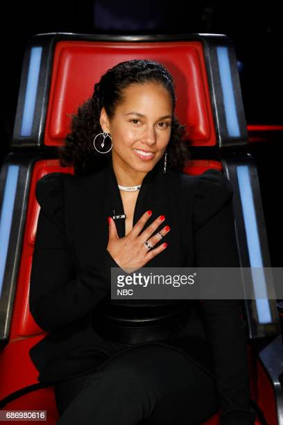 THE VOICE 'Live Finale' Episode 1219A Pictured Alicia Keys