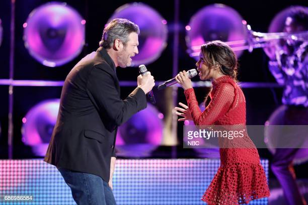 THE VOICE 'Live Finale' Episode 1219A Pictured Blake Shelton Aliyah Moulden