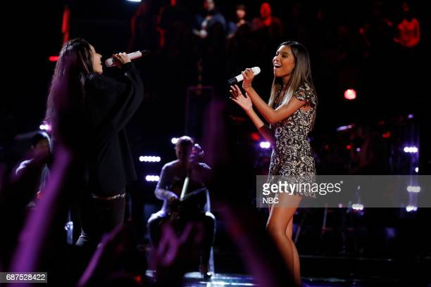 THE VOICE 'Live Finale' Episode 1219B Pictured Alessia Cara Aaliyah Moulden