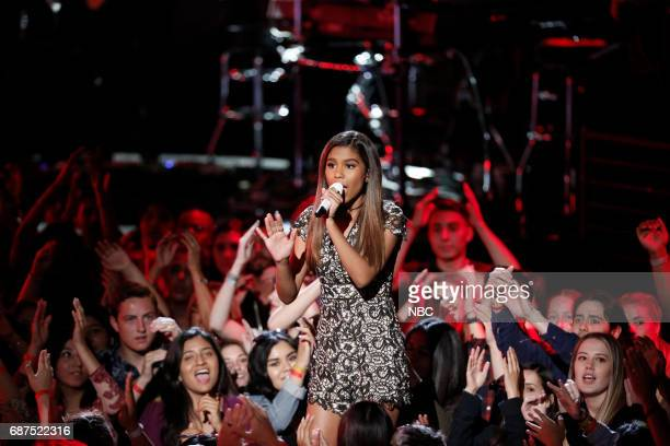 """THE VOICE 'Live Finale"""" Episode 1219B Pictured Aliyah Moulden"""