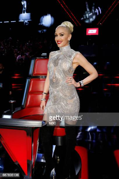 THE VOICE 'Live Finale' Episode 1219B Pictured Gwen Stefani