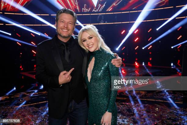 THE VOICE 'Live Finale' Episode 13121B Pictured Blake Shelton Chloe Kohanski