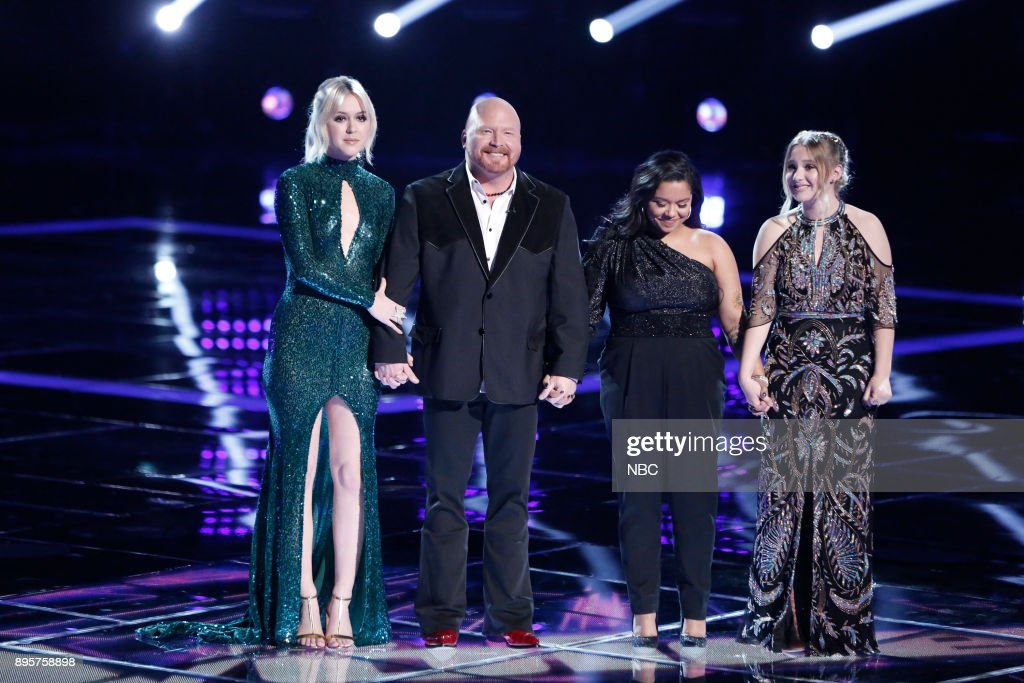 THE VOICE -- 'Live Finale' Episode 1321B -- Pictured: (l-r) Chloe Kohanski, Red Marlow, Brooke Simpson, Addison Agen --