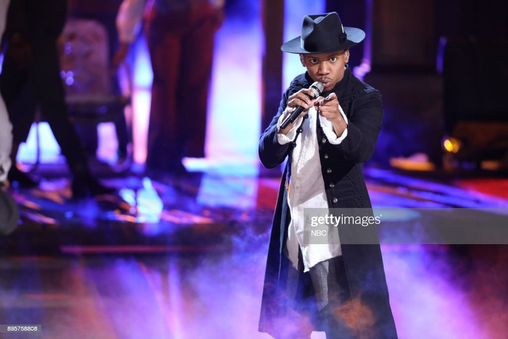 THE VOICE -- 'Live Finale' Episode 1321B -- Pictured: Chris Blue --