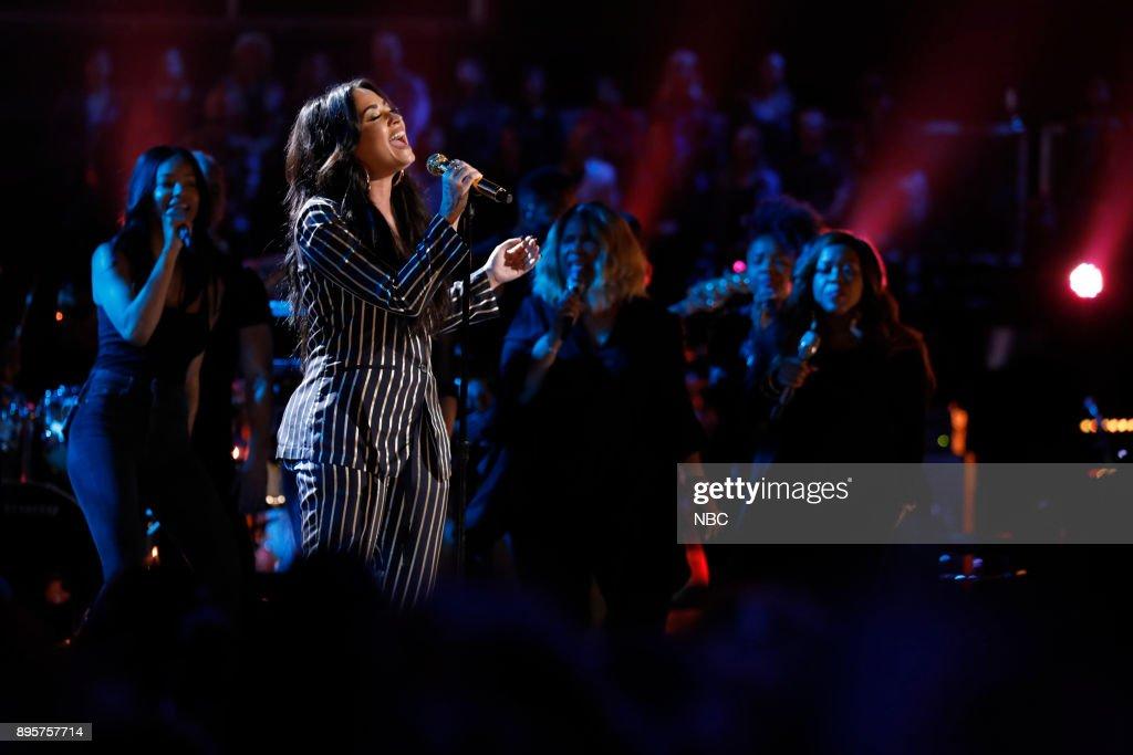 THE VOICE -- 'Live Finale' Episode 1321B -- Pictured: Demi Lovato --